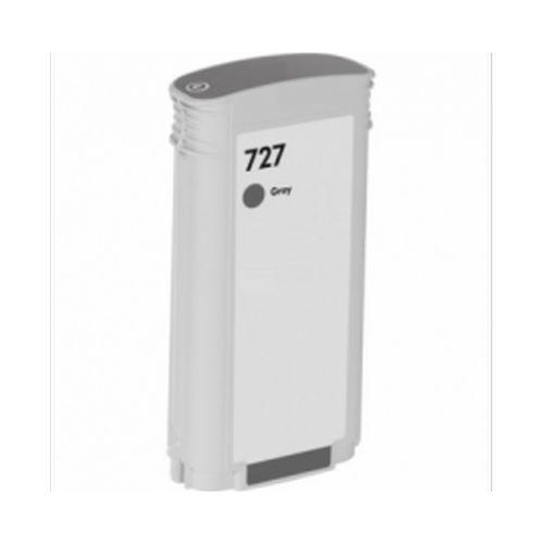 Neutral Druckerpatrone für HP B3P24A 727 Tintenpatrone grau, Inhalt 130 ml für DesignJet T 1500 ePrinter/ePrinter PS 36 Inch/36 Inch/920 für DesignJet T 920 ePrinter PS 36 Inch