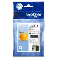 Brother Original Tintenpatrone MultiPack Bk,C,M,Y LC3211VALDR